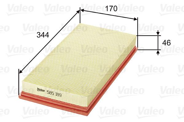 Въздушен филтър VALEO 585189 Volvo V40 S40 1995-2003